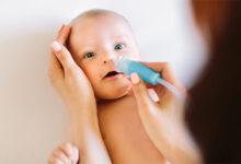 bebeklerde burun akıntısı